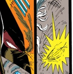 Give the laxatives some time to work, guys. It'll be okay. (New Mutants #94)