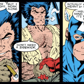 Remember that time Cap made an awkward pass at Wolverine? (Uncanny X-Men #268)