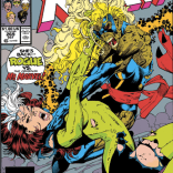 Come for the broken spine; stay for spoiling the surprise twist! (And yet, somehow, we still love this cover.) (Uncanny X-Men #269)