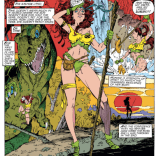 It's really not the Savage Land without a sexy montage. (Uncanny X-Men #269)