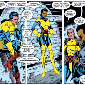 """Also, we think they might be slightly evil."" (Uncanny X-Men #264)"