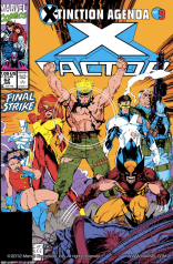 """Topless Havok will lead us to victory!"" (X-Factor #62)"