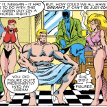 Breakfast with Excalibur is aggressively informal. (Excalibur #29)