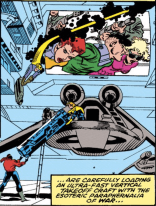 """Son, do you have a license for that esoteric paraphernalia?"" (X-Factor #60)"