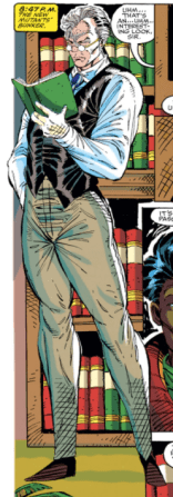 Cable, that's really not how pants--you know what? Never mind. (New Mutants #99)