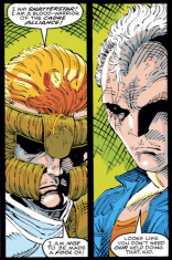 You're not wrong, Cable. (New Mutants #100)