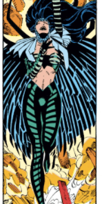 Zaladane: boring as hell, but damn does she know how to dress! (Uncanny X-Men #274)