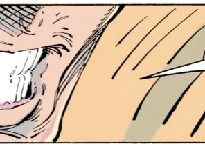 CABLE, YOU PUT THOSE EXTRA TEETH RIGHT BACK WHERE YOU FOUND THEM. (New Mutants #100)