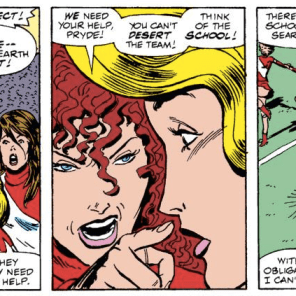 AND THAT'S WHY YOU ALWAYS LEAVE A NOTE! (Excalibur #34)