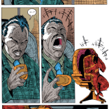 The weirdly protracted death of Emmanuel da Costa. (New Mutants #98)