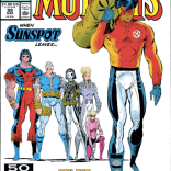One of many, many homages to the cover of X-Men #138. (New Mutants #99)