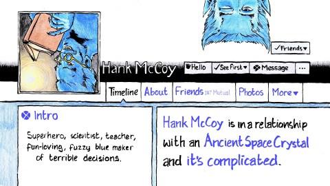 160 – Hank McCoy and the Hickey of Destiny | Jay & Miles X