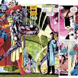Another two-page spread? DON'T MIND IF I DO! (Uncanny X-Men #276)