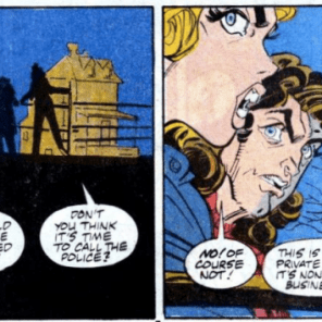 THESE ASSHOLES, SERIOUSLY. (Marvel Comics Presents #15)