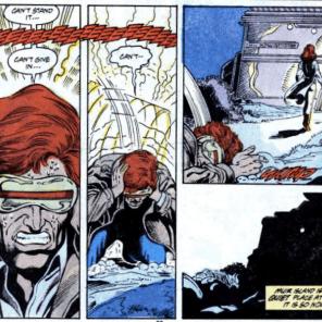 Cyclops: Still the worst at vacations. (Marvel Comics Presents #17)