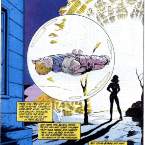 Moira, this is not an acceptable way to science. Who do you think you are, Charles Xavier? (Marvel Comics Presents #18)
