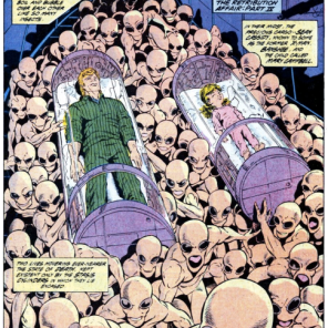 More servitors, because if I have to see this nonsense, you do, too. (Marvel Comics Presents #20)