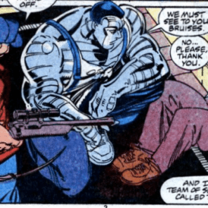 """""""Okay, but... why did you resign?"""" (Marvel Comics Presents #14)"""