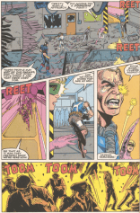 """Attack them with all your sound effects!"" (New Mutants Annual #7)"