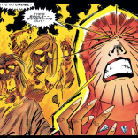 It's hard to be a Phoenix host in a hell dimension. (Excalibur: Weird War III)