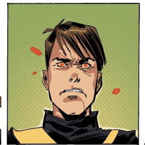 Seriously, it's a great reaction image. (X-Factor Forever #4)