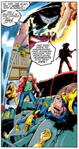 """And that one dude from Final Fight will help me!"" (Uncanny X-Men #278)"
