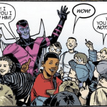 """Hey, kids! Have some flechettes!"" (X-Factor Forever #1)"