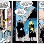 I like the idea that the BIG SECRET isn't that they faked his memories but that they had to reuse sets because of budget constraints. (Wolverine #50)