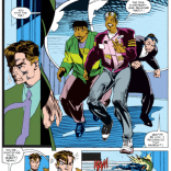 Seriously, there's just a page and a half, mid-fight, dedicated to gratuitous Rocketeer references. (X-Factor #73)