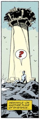 Pretty much a perfect one-panel summary of Excalibur. (Excalibur #43)