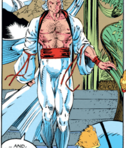 LOOK AT THIS FASHION GOD. (X-Men #1)