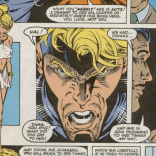 There is literally no good reason to have this in the story; but then, there's literally no good reason for most of this story. (The Incredible Hulk #391)