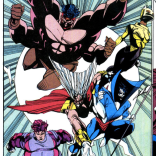Remember that time the Mutant Liberation Front looked legitimately and ironically awesome? Because that happened. (X-Factor #77)