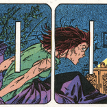 She yelled so hard it changed the shape of the panels! (X-Men #4)