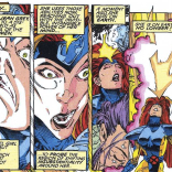 Interdimensional travel faces. (Uncanny X-Men #285)
