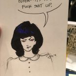Usually we only draw X-Men, but if you ask Jay to draw Lois Lane, he will draw Lois Lane.