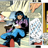The first appearance of the letter... (Uncanny X-Men #278)