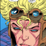 Speaking of likenesses, remember the time Cannonball was David Bowie? (X-Force #10)