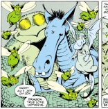 THE GREATEST LOVE STORY IN COMICS. (Excalibur #47)