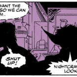 And that's why you don't bring Technet on a stakeout. (Excalibur #45)