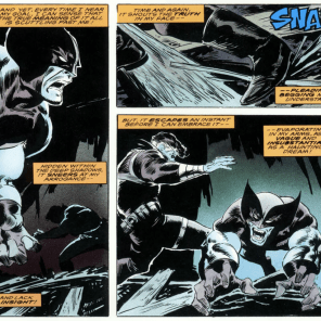 """Dear Diary, nobody understands me."" (Wolverine: Bloody Choices)"