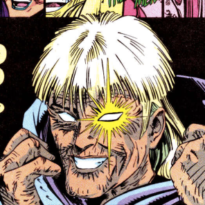 I feel really good about the fact that Longshot aged into Estelle Getty. (X-Force Annual #1)
