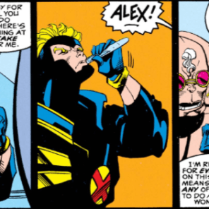 Respect, man. Wait... it was all a trick? Okay, different respect.(X-Factor #81)