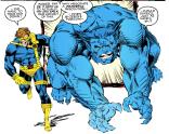 Nicieza's Beast is really, really good. (X-Men #13)