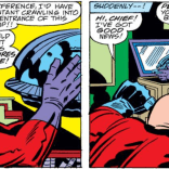 """""""Jeez, man! I could have been... magnetizing in here!"""" (Captain America Annual #4)"""