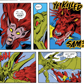 (It's okay; Sam's fine and possibly immortal.) (X-Factor #82)
