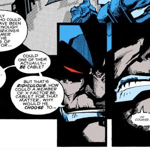 Even Apocalypse is horrified by the ramifications of this mess. (X-Factor #85)