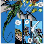 I really love both the art in this issue and Dragoness's design as drawn by Jae Lee. (X-Factor #85)