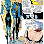 Oh, this is gonna be awkward. (X-Factor #83)