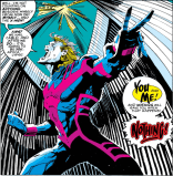 At karaoke, Archangel's voice is just okay, but his performance is 10/10. (X-Factor #84)